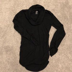 Black cowl neck maternity sweater size m
